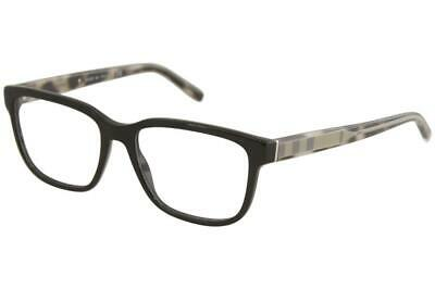 964f4336ba68 Burberry Men's Eyeglasses BE2230 BE/2230 3001 Black Full Rim Optical Frame  55mm