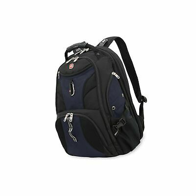 "SwissGear Travel Gear 1900 Scansmart TSA Friendly Laptop Backpack 19"" Blue 19"""