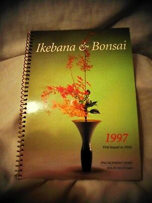 Ikebana & Bonsai book 1997 Engagement Diary