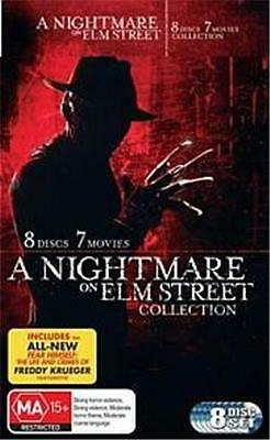 A NIGHTMARE ON ELM STREET 1 - 7 Movies Collection : NEW 8-DVD