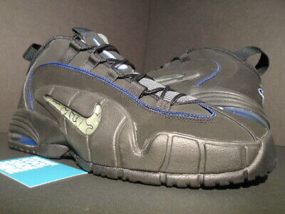 online store c6a22 2c595 2014 Nike Air Max Penny One 1 Black White Royal Blue Silver 685153-001 12