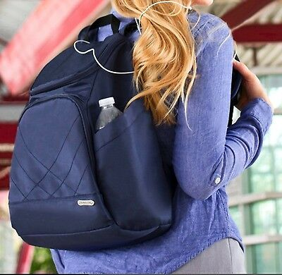 25% Off - Travelon Anti Theft Rfid Safe Classic Travel Backpack/ World Wide Ship
