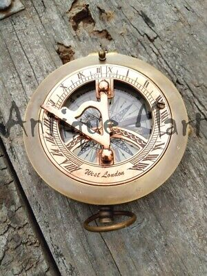 Solid Brass Antique Working Compass Nautical Astrolabe Collectible nautical gift