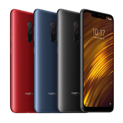 Xiaomi Pocophone F1 6GB 64GB Smartphone Dual SIM 4G India Unlock Version