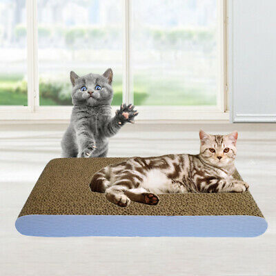 Pet Cat Scratch Board Cats Interactive Toys Corrugated Paper Scratching Posts