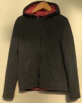 Girls Fur Lined Hoodie 10-11 Pepperts <H4266