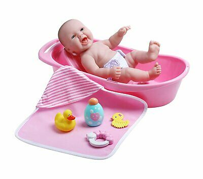 Jc Toys Lots To Lots To Love Baby Doll Real Working Bathtub With