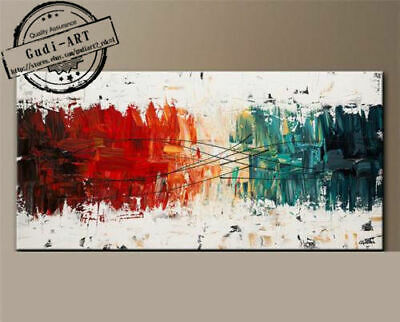 100% Oil Painting Modern Large Wall Hand-Painted Home Abstract Decor Canvas Art