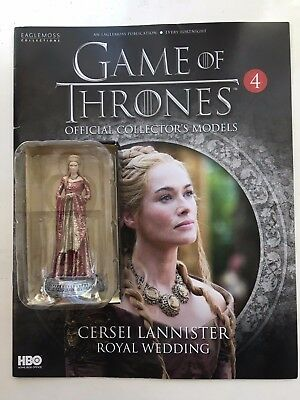 Game Of Thrones Issue 4 Cersei Lannister Eaglemoss Action Figure Collectables