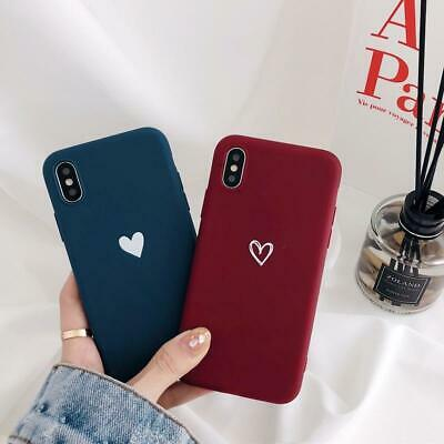 Case for iPhone 7 8 Plus XR XS MAX 6s ShockProof Soft Phone Cover TPU Silicone