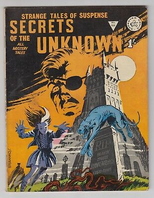 Secrets Of The Unknown # 103  Alan Class Nick Fury Shield # 3  Fn  Uk Edition
