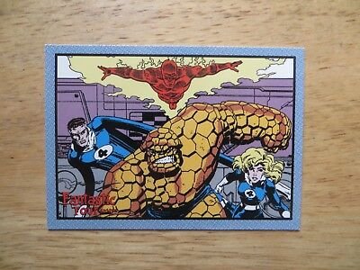2008 Vintage Fantastic Four Archives Card # 48 Signed Mike Decarlo, With Poa