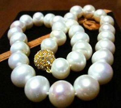"""Fashion Exquisite 8-9MM WHITE AKOYA Cultivation PEARL NECKLACE AAA 18/"""""""