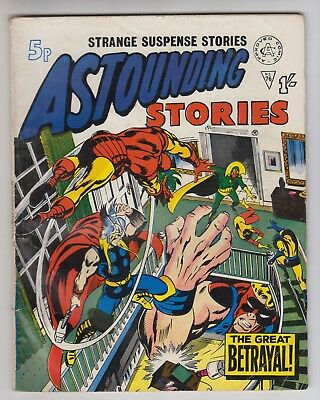Astounding Stories # 76  Alan Class  Avengers # 67  Ultron  Fn  Uk Edition