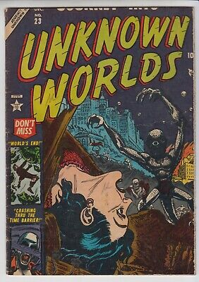 Journey Into Unknown # 23  Fr/gd  Pre-Code Horror  Atlas Cents 1953