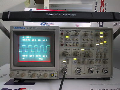 Refurbed Calibrated TEKTRONIX 2467BHD 2467B HD OSCILLOSCOPE; 1 Yr guaranty avail