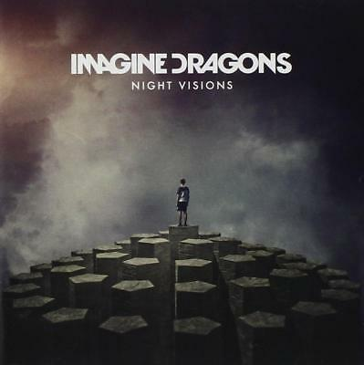 Night Visions - Imagine Dragons - Rock Band (CD, 2012) Pop - New Sealed -