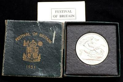 1951 George VI Festival Of Britain Boxed Crown Coin