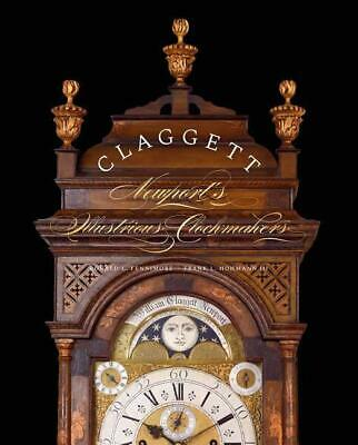 Claggett - Newport's Antique Clockmakers 1700s w Shelf Mantle Clocks Grandfather