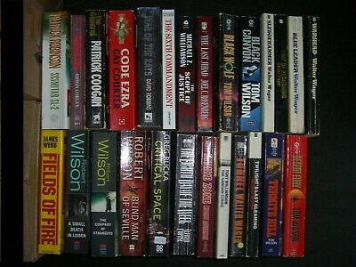 Job lot of 26 x Assorted Mainly Crime & Thriller Books by Various
