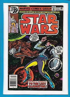 "Star Wars #22_April 1979_Fine/very Fine_""to The Last Gladiator""_Bronze Age!"