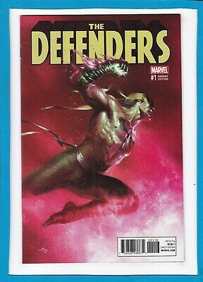 Defenders #1_August 2017_Near Mint_Gabriele Dell'otto Iron Fist Variant!