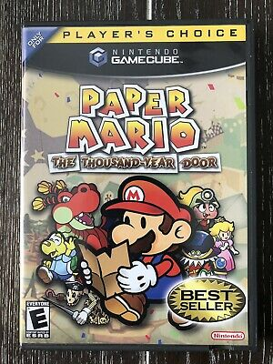 paper mario the thousand year door game cube