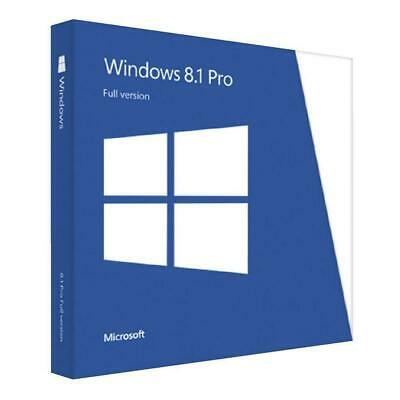 Win 8.1 PRO 32/64 BIT ORIGINAL LICENSE MULTILANGUAGE