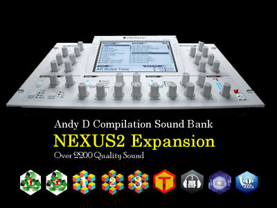 Andy D Big Bundle Sound Bank Pack For reFX NEXUS2