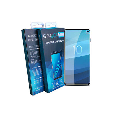 Samsung Galaxy S9 S10 Plus Nuglas Tempered Glass 3D Screen Protector