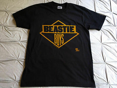 Beastie Boys GET OFF MY DICK run dmc rap tour Vtg 1986 T-shirt Reprint Top Sold