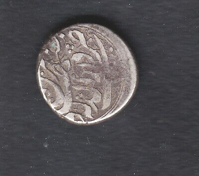 OLD ISLAMIC SILVER COIN , 4.9g,15mm