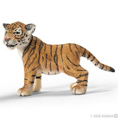 NEW SCHLEICH 14371 Asia Asian Tiger Cub Standing Wild Life - RETIRED