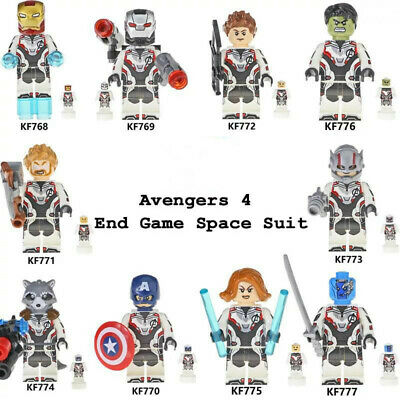 Marvel Avengers Endgame Infinity War Minifigs Space Suits For Lego✔☆New☆✔Sealed