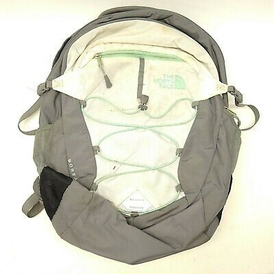 77f15bd84bf169 North Face Borealis Ergonomic Gray Backpack Outback Hiking Laptop Tablet Bag