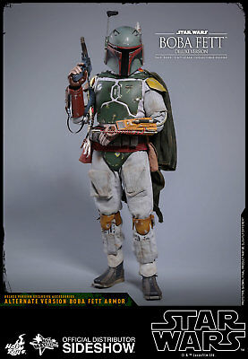 Hot Toys Star Wars ESB Boba Fett Deluxe MMS464 MAINS X 7 Set 1 Loose échelle 1//6th