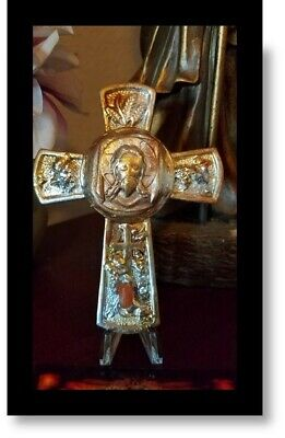 St.Veronica's Veil Cross Reliquary Holy Fire relic Tomb of Jesus
