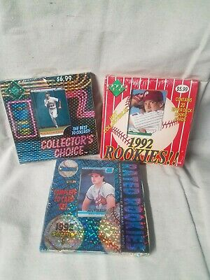 Lot Of 1992 Upper Deck collectors Choice Rookies Donruss Cards 63 Cards Mint