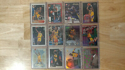 105 Card Kobe Bryant Lot Rookies Inserts UD Panini Topps Fleer Chrome Lakers