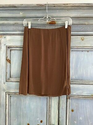 97a9274f2aa4 Marni brown short slip skirt size 38 made in Italy