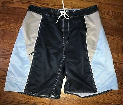 Brand New $34.99 BOARD SHORTS Men/'s XL X-LARGE wavy waves GAP Blue Swim Suit NWT