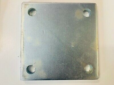 Steel Square Base Plate 130*130*9.0mm / 150*150*9.0mm / 200*200*10mm For Post