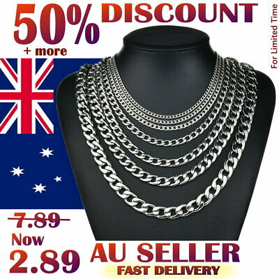 Stunning 925 Sterling Silver Filled 4MM Classic Curb Necklace Chain Wholesale