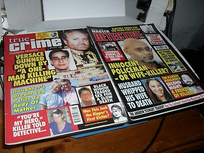 Master Detective true crime magazineJUNE 2018TRUE CRIME  MAY 2018 READ ONCE