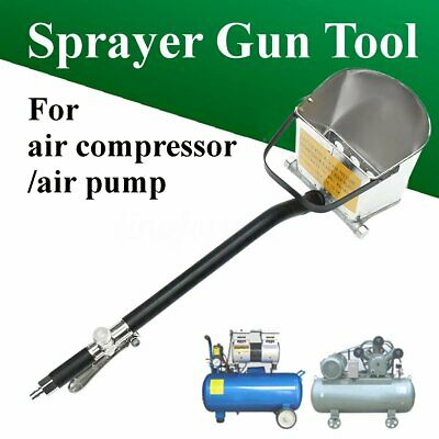 77cm Air Stucco Cement Plaster Texture Hopper Sprayer Gun Wall Plastering Tool