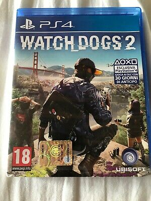 Watch Dogs 2 Stand. Edition Ps4 Italiano Videogioco Play Station 4 Gioco Nuovo