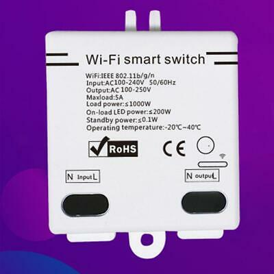 Smart Home WiFi Wireless Switch Module For IOS Android APP Ctrl 6MB4O Hot White