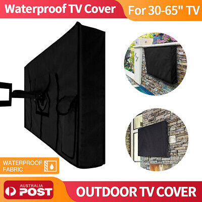 """Waterproof TV Cover Outdoor Flat Television Protector Dustproof 30-58"""" inch TV"""