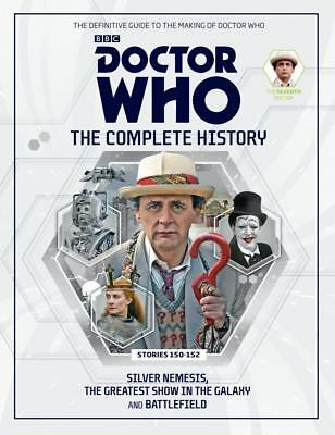 Doctor Who Complete History Vol 45 Hc 7Th Doctor Stories 150-152 Near Mint