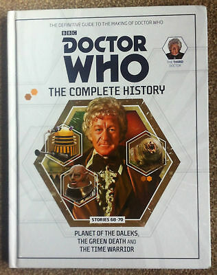 Doctor Who Complete History Vol 20 Hc 3Rd Doctor Stories 68-70 Near Mint
